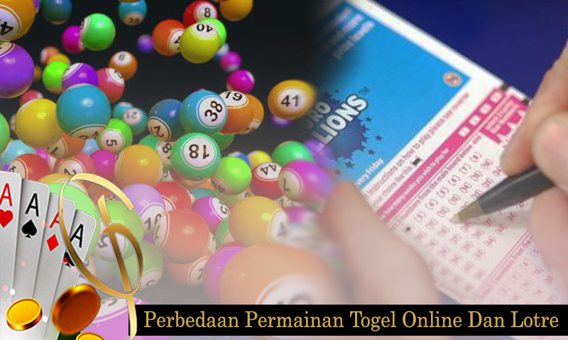 Perbedaan Permainan Togel Online Dan Lotre